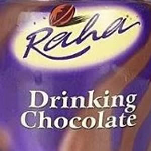 Raha drinking chocolate